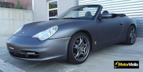 Porsche gris mate