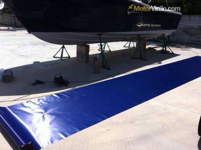 Vinilo para barco 3M cepillado