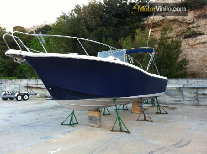 Rotulación barco con vinilo 3M