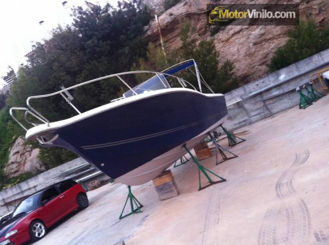 Resultado barco vinilado