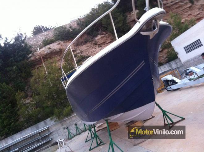 Barco antes de vinilar