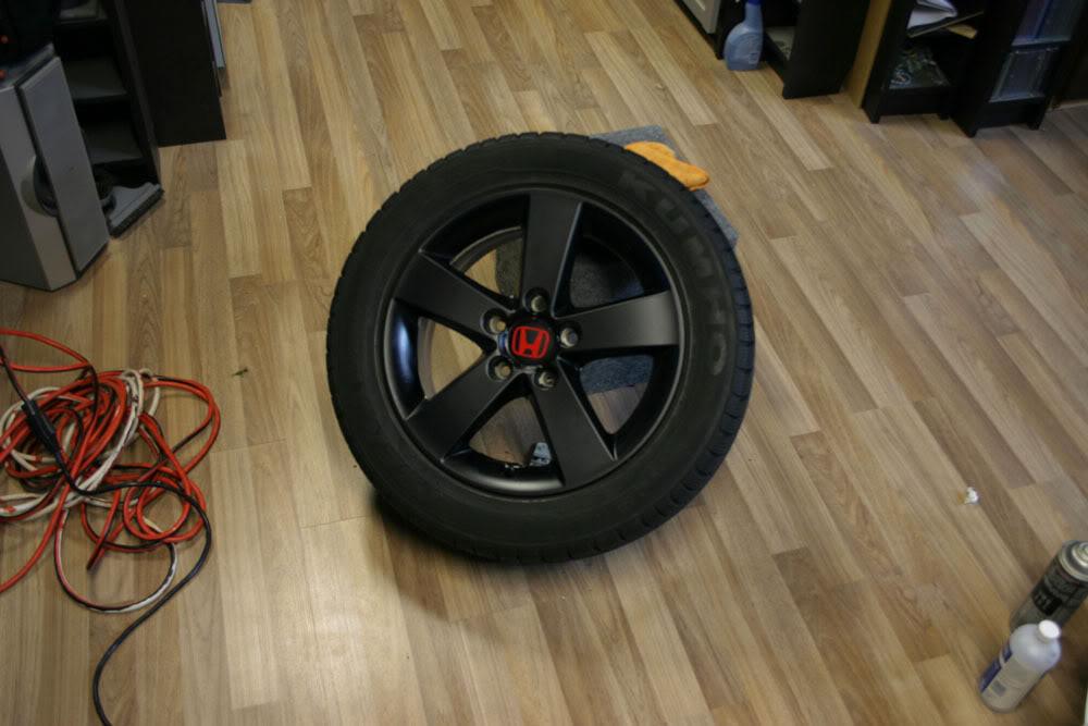 Vinilar llantas del coche o moto con vinilo 3m y plastidip - Se puede pintar el aluminio ...