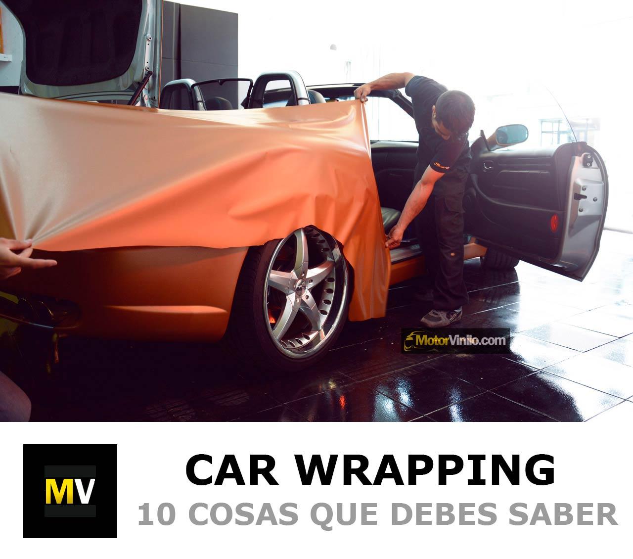Las 10 cosas que debes saber sobre Car Wrapping. Preguntas frecuentes