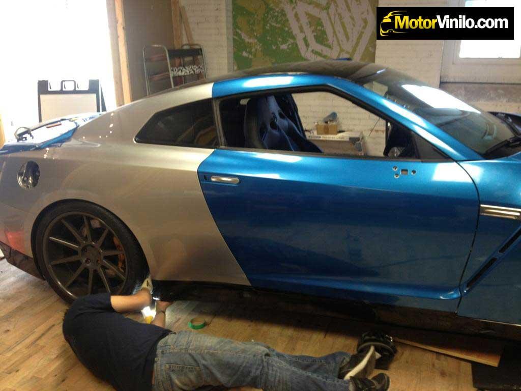 Colores metalizados para coches