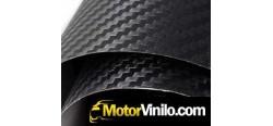 Vinilo Carbono 10cm x 122cm