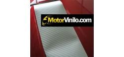 Vinilo Carbono Silver 250cm x 122cm