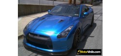 Vinilo Azul Metalizado 300cm x 152cm
