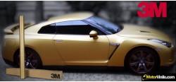 Vinilo Oro Cepillado 500cm x 152cm