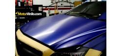 Vinilo Azul Cepillado Metalizado 150cm x 152cm