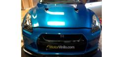 Vinilo Azul Metalizado 80cm x 152cm