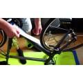 Protector bici transparente brillante (10cm)