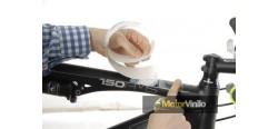 Protector bicicleta transparente acabado mate