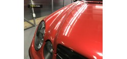 Vinilo rojo dragón brillante 150cm x 152cm