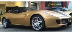 Vinilo Oro Brillante Metalizado 3M