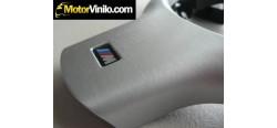 Vinilo Aluminio Cepillado para molduras interiores de coche