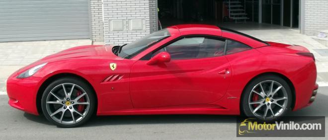 Ferrari film rojo brillante 3M
