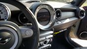 interior carbono mini cooper