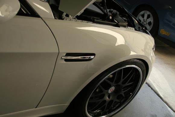 Vinilo protector pintura en BMW M3 e92