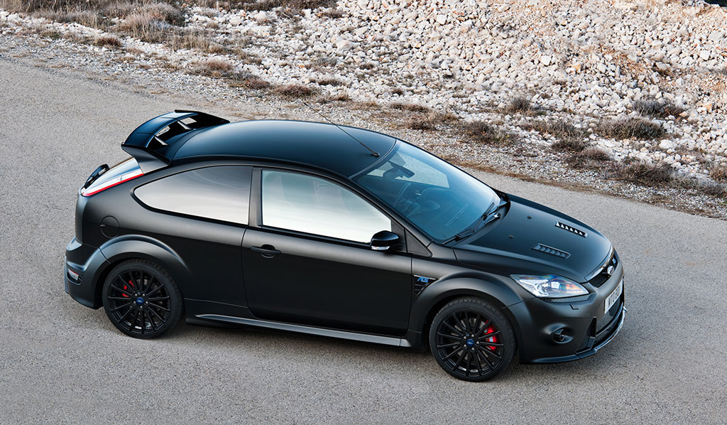 Ford Focus RS500 negro mate