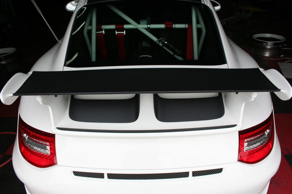 Alerón fibra de carbono Porsche 996